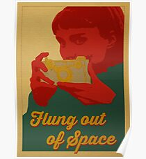 Flung Out of Space Poster