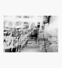 Figurative Moving Abstract Photographic Print