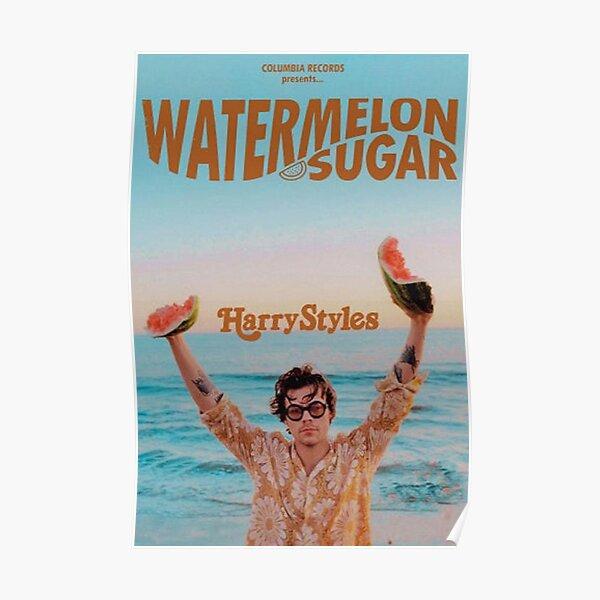 Watermelon Sugar harry Poster