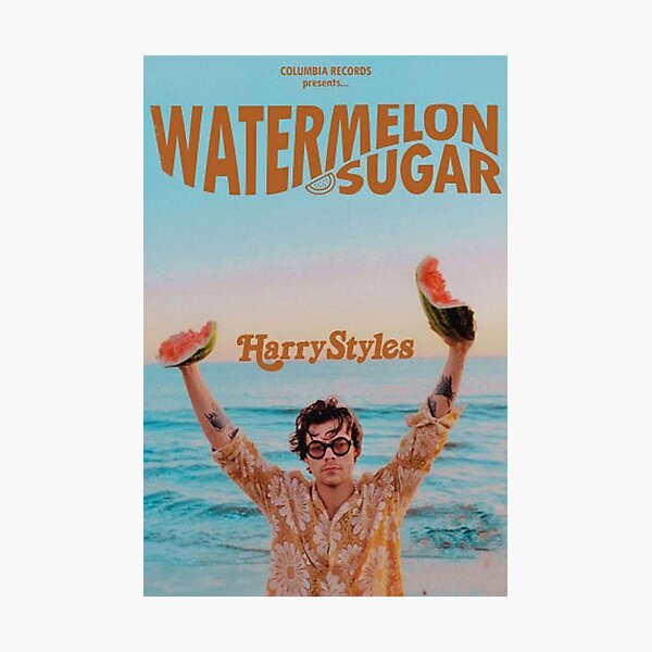 Wassermelone Zucker Harry Fotodruck