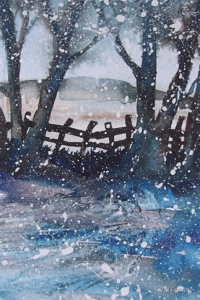 Winter Blues by Val Spayne