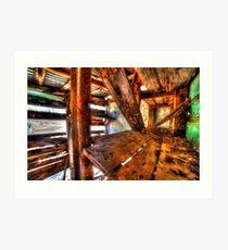 Abandoned Bush house #1 & #2, the pantry Art Print