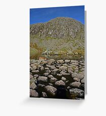 Pavey Ark and Stickle Tarn Greeting Card