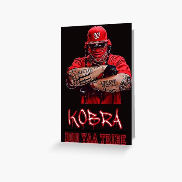 Kobra (Boo Yaa Tribe) Greeting Card