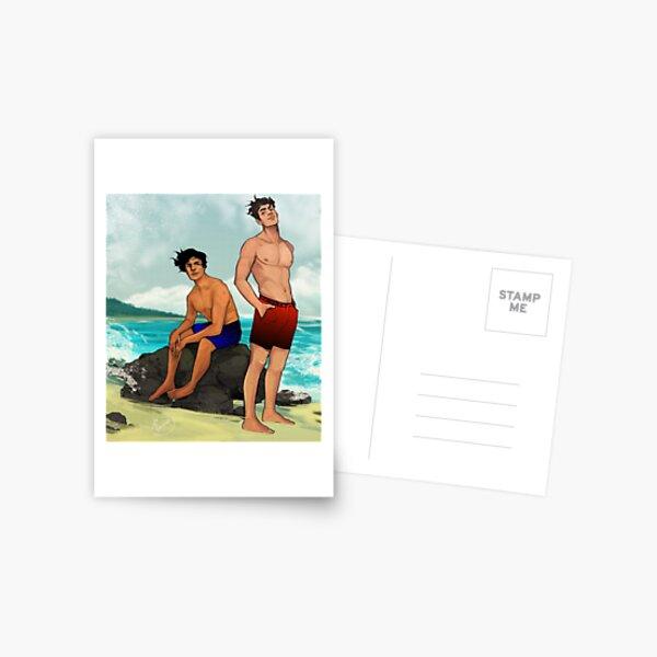 Beach - Jason & Dick Postcard