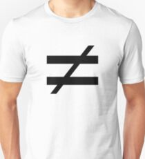 Not Equals T-Shirt