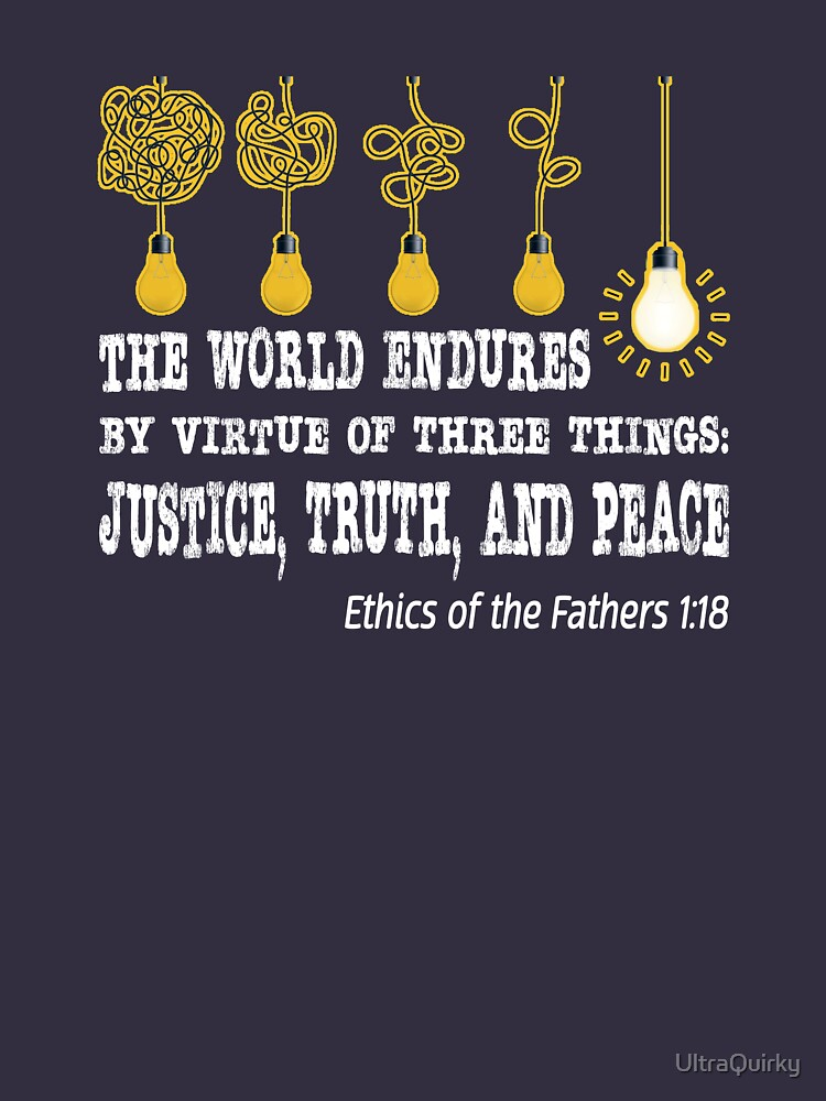 Justice, Truth, and Peace. by UltraQuirky