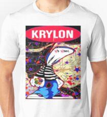 New York City Subaway Graffit Art Map Krylon Unisex T-Shirt