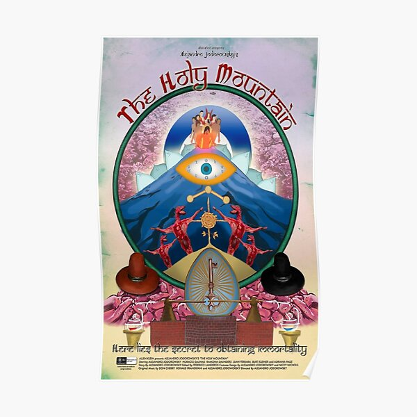 The Holy Mountain Art - La Montagne Sacrée Art Poster