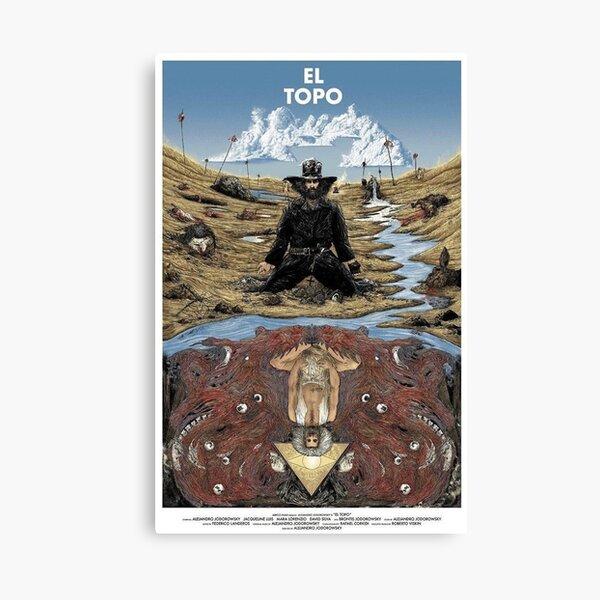 El Topo Fan Art Canvas Print