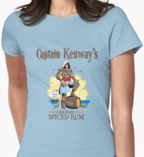 Captain Kenway's original rum Women's Fitted T-Shirt