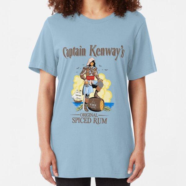 Captain Kenway's original rum Slim Fit T-Shirt