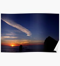 CANON BEACH SUNSET~ Poster