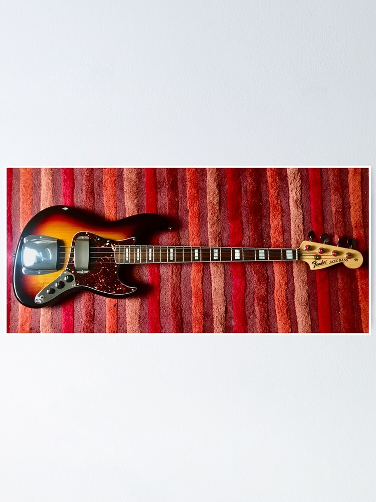 Alternate view of Jazz Bass Poster