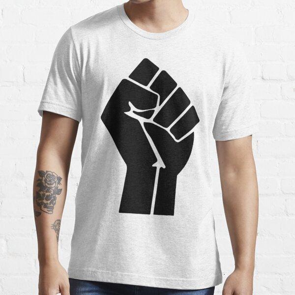 Raised Fist Black Power Symbol Essential T-Shirt