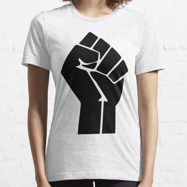 Raised Fist Black Power Symbol Essential T-Shirt