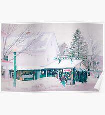 Bridgton Maine Poster