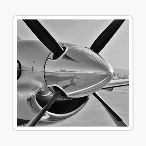 Pilatus PC12 Nose and Propellor Sticker