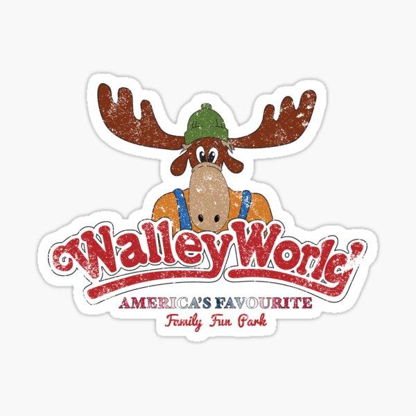 Walley World - America's Favourite Logo Distressed Sticker
