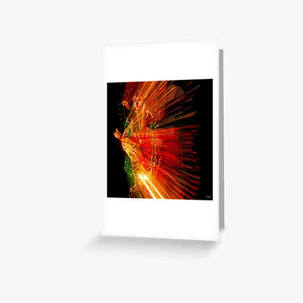 Divinity Greeting Card