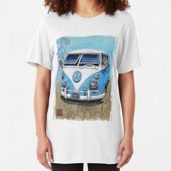 Austin A35 Van embroidered on Polo Shirt