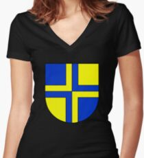 Davos Women's Fitted V-Neck T-Shirt