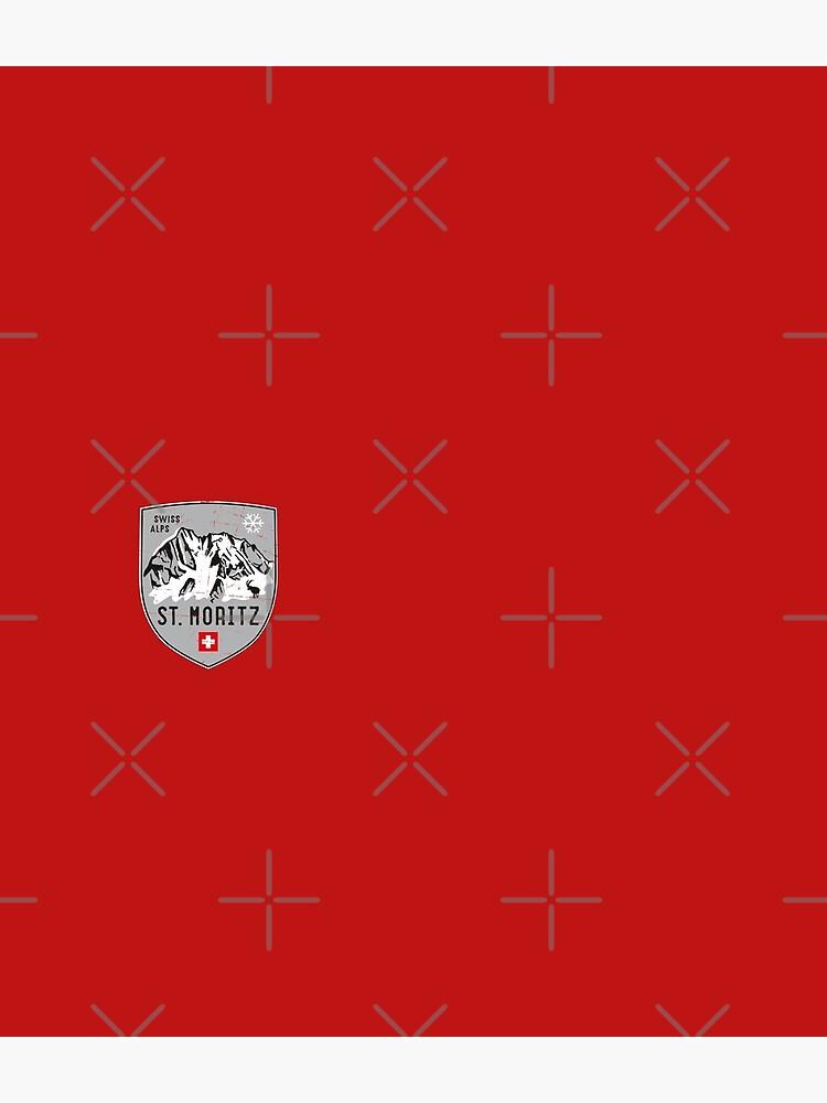 St. Moritz Switzerland Emblem by posay