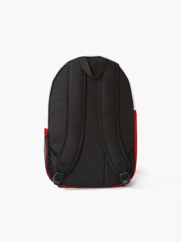 Alternate view of St. Moritz Switzerland Emblem Backpack