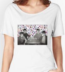 Camiseta ancha para mujer The Smiths + Cats ayyy