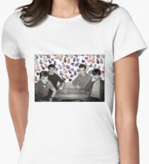 The Smiths + Cats ayyy Women's Fitted T-Shirt