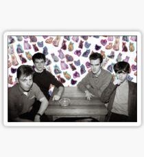 The Smiths + Cats ayyy Sticker