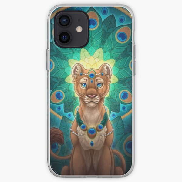 Peacock Lioness iPhone Soft Case