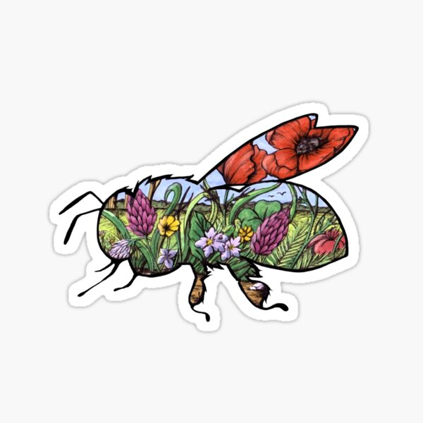 #saveourplanet for the bees Sticker