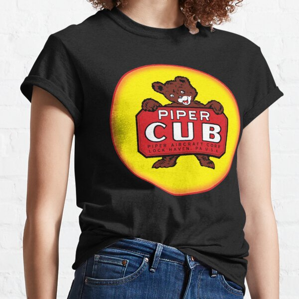 Piper Cub Vintage Aircraft USA Classic T-Shirt
