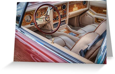 Interior Of A Stutz Blackhawk by Thomas Young