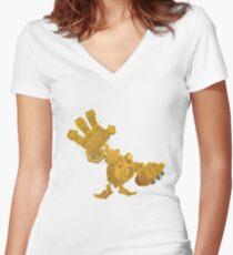 Blitzcrank Women's Fitted V-Neck T-Shirt