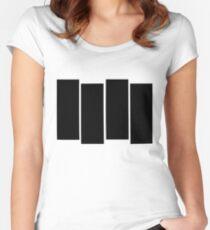 Black Flag shirt Women's Fitted Scoop T-Shirt