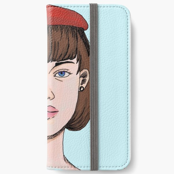 Red Beret iPhone Wallet