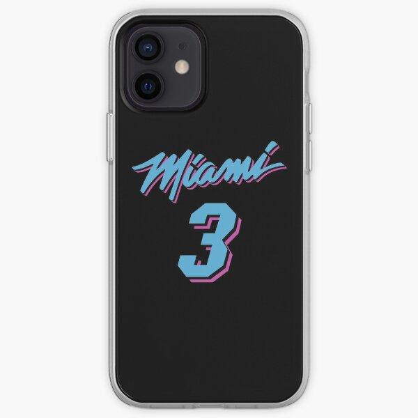 Dwyane Wade Miami Heat Vice Jersey Coque souple iPhone