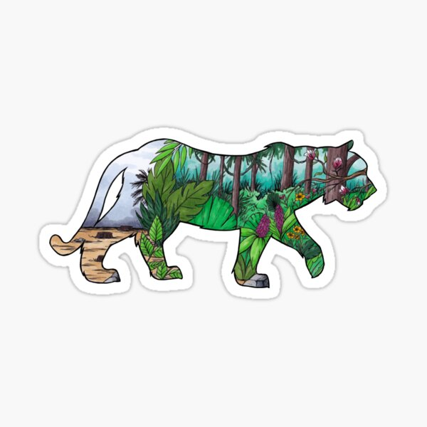 #saveourplanet for the tigers Sticker