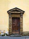Doorway, Florence, Italy by David Carton