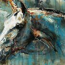 The Noble Horse Detail by Nina Smart
