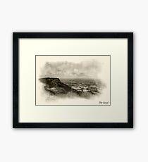 The cloud, bromide Framed Print