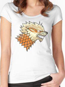 STARKANINE Women's Fitted Scoop T-Shirt