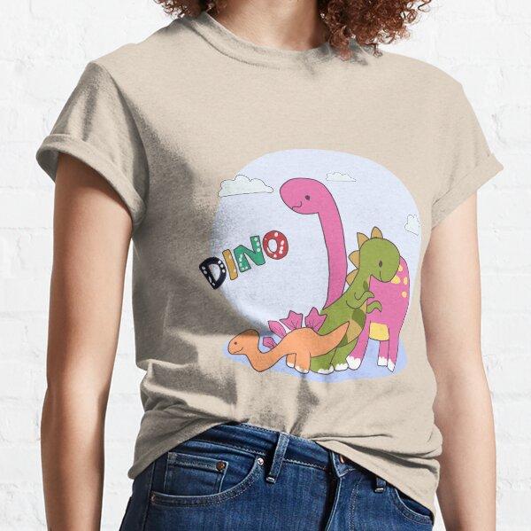 DINO Family T-Shirt Design - Es ist in Ordnung, nicht in Ordnung zu sein Classic T-Shirt