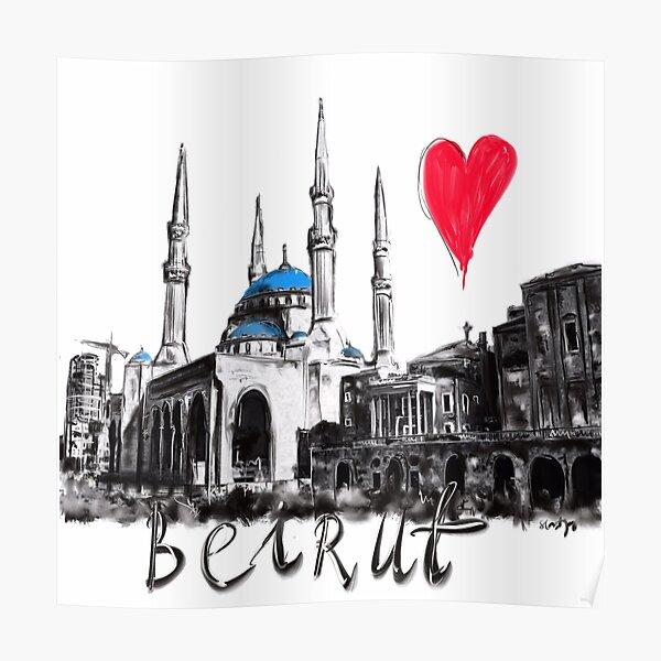 I love Beirut  Poster
