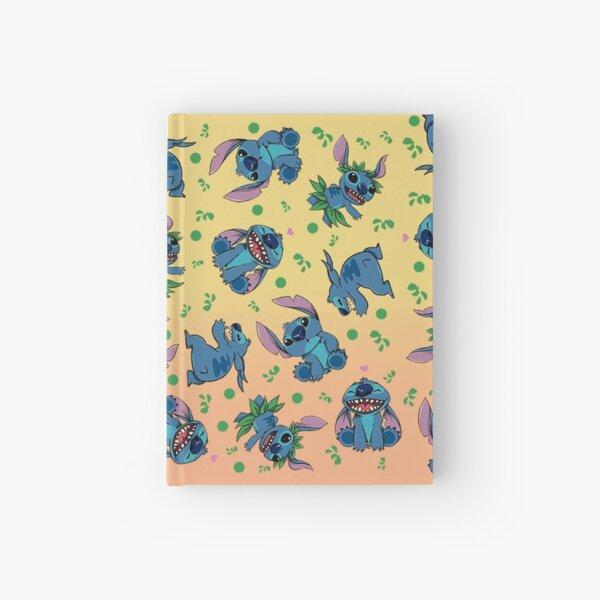 Stitch estampado Cuaderno de tapa dura