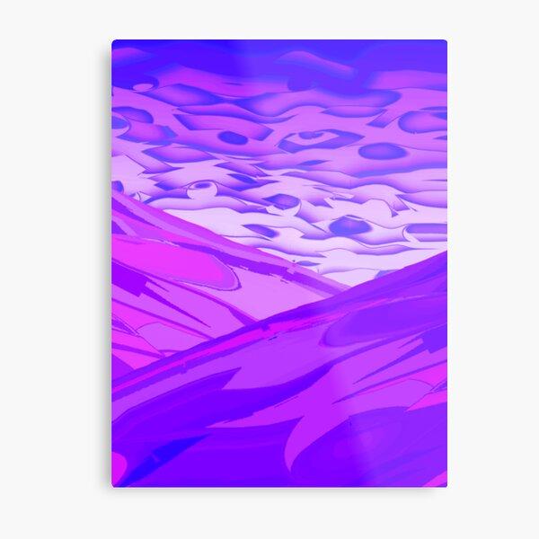 Bluespur Metal Print