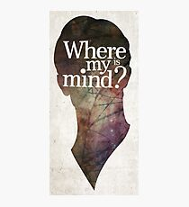 """""""Where is my mind?"""" Two Photographic Print"""
