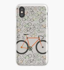 Fixed gear bikes iPhone Case